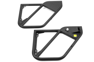 Smittybilt SRC Tubular Doors Rear Black ( Part Number: 76792)
