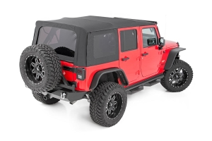 Rough Country Soft Top Black (Part Number: )