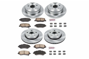Power Stop Autospecialty OE Replacement Brake Kit  - JK