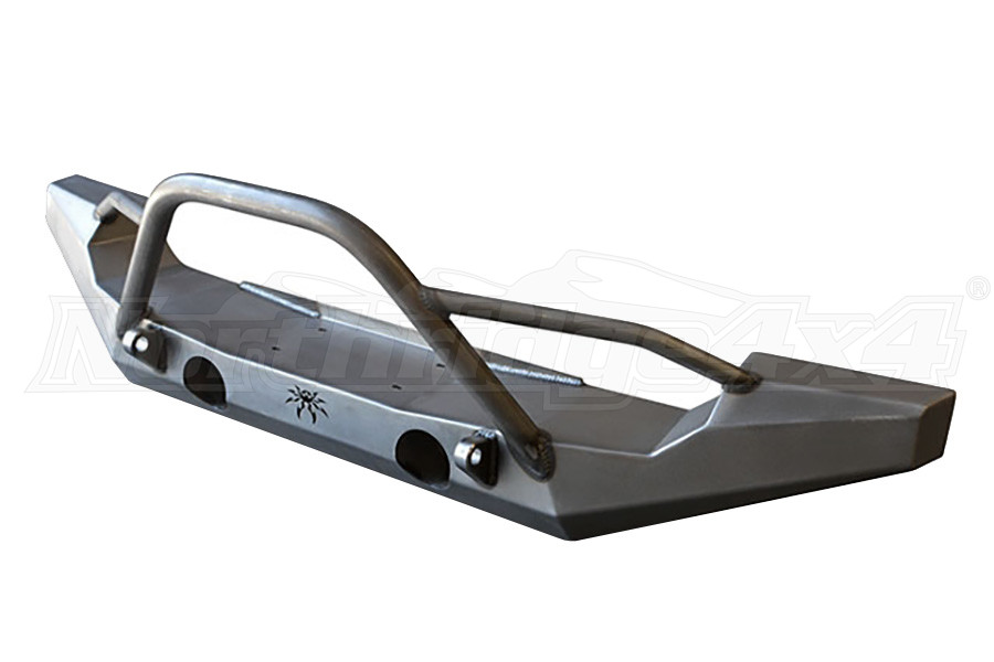 Poison Spyder Full Width Front Bumper with Tabs, Brawler Bar & Gussets (Part Number:17-64-020-DBT)