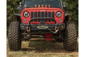 Rugged Ridge Arcus Front Bumper w/ Overrider  - JK
