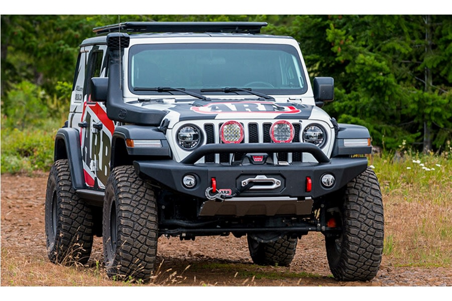ARB Bondi Deluxe Front Bumper w/ Bar  - JL/JT Rubicon