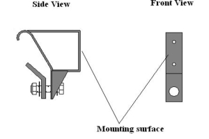 Gobi ARB Awning Mounting Brackets ( Part Number: GJJKARBAW-BRKT)