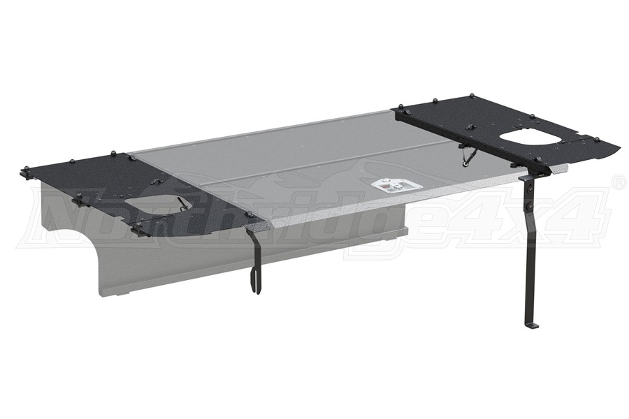 Aries Jeep Security Cargo Lid Side Panels - JK