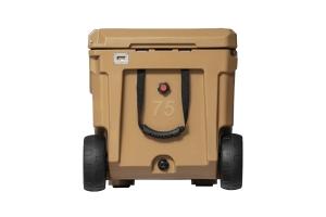 Roam Rolling Rugged Cooler, 75qt - Tan