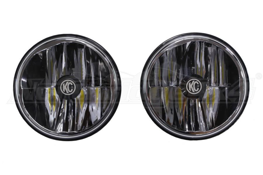 KC Hilites Gravity LED Headlights, Pair (Part Number:42351)