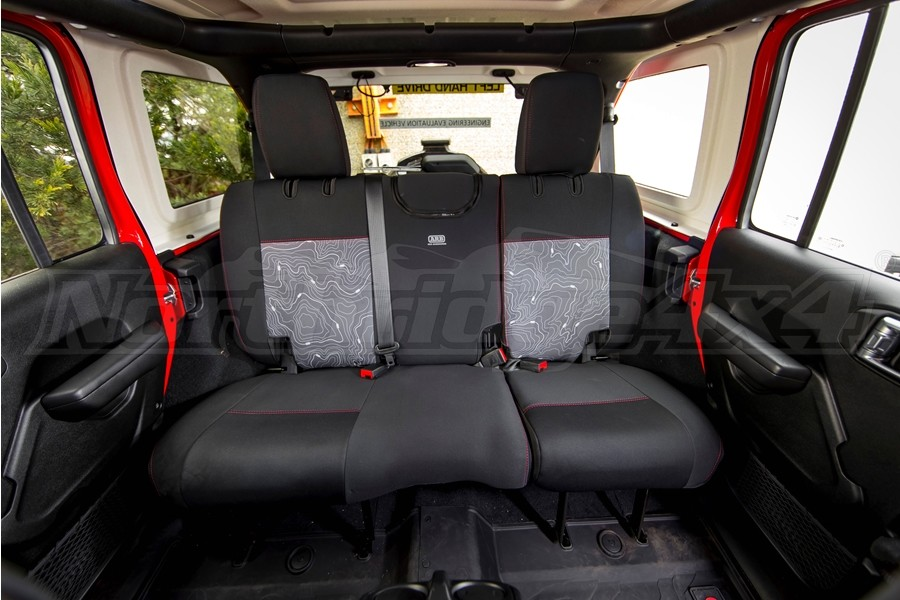 ARB Seat Skin Seat Covers, Rear  - JL 4Dr Sport