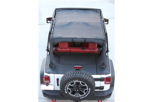 Bartact Full View Sun Shade Top Black ( Part Number: JKVS07134DB)