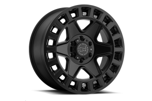 Black Rhino York Wheel 17x9 5x5 Matte Black (Part Number: )