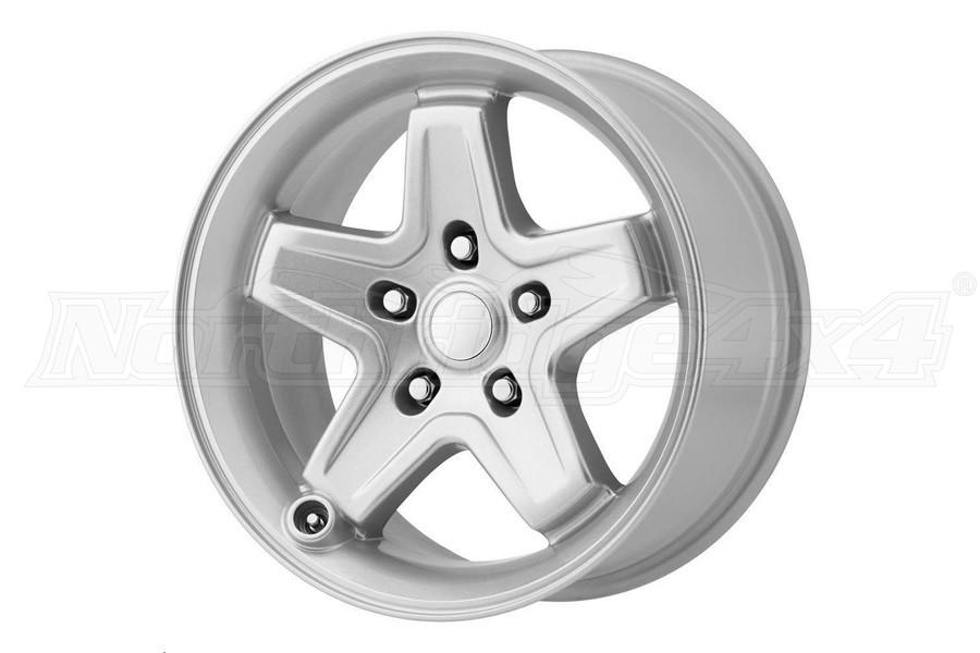 Wheel Pros 180 Series Silver Wheel 17X8.5 5X127 (Part Number:180S-787310)