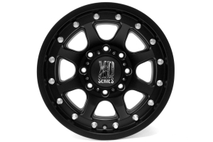 XD Series Addict Matte Black 17x9 8x170 (Part Number: )