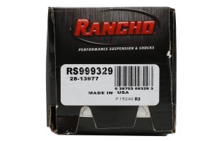 Rancho Performance RS9000XL Series Shock Front 3in Lift - JK  (Part Number: )