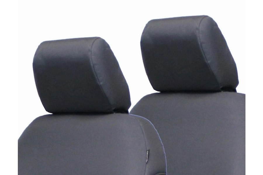 Bartact Rear Bench Headrest Cover, Pair - Graphite - JL 2Dr