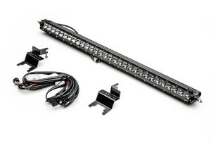 T-REX ZROADZ Rear Window Hard Top Mounting Bracket Kit w/30In LED Light and Wire Harness (Part Number: )