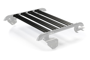Teraflex Nebo Roof Rack 4-Piece Cargo Slat Kit - Black - JK 2dr