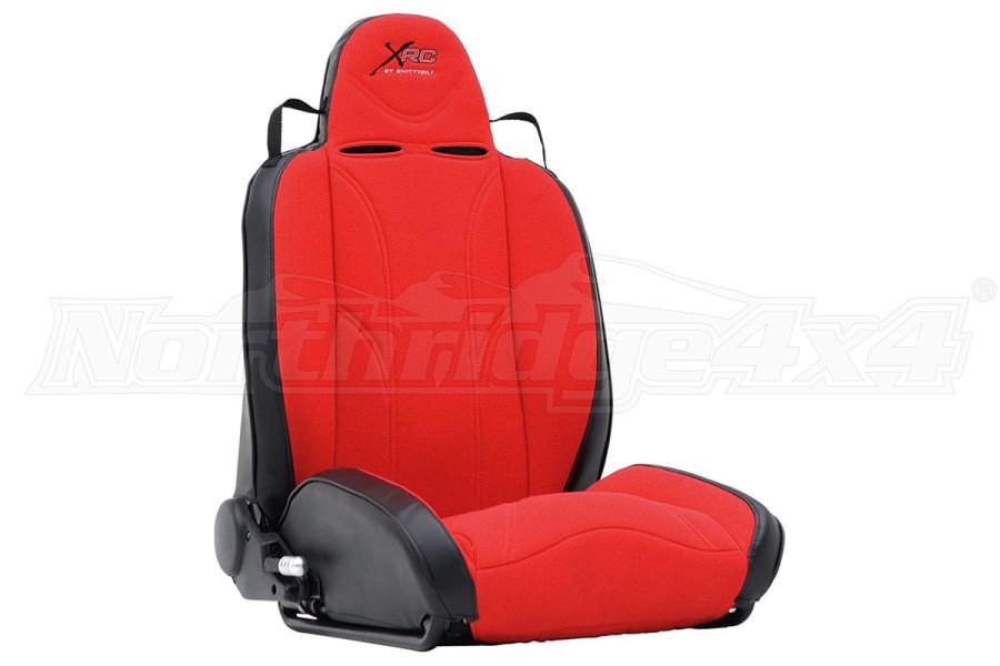 Smittybilt XRC Suspension Seat, Passenger Side, Red/Black (Part Number:750130)