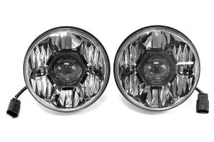 KC HILITES Headlight Gravity LED Pro Headlight Pair ( Part Number: 42341)