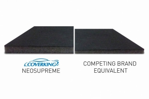 CoverKing Neosupreme Rear Seat Cover - Solid Black - JL 4dr w/Split Bench & Armrest