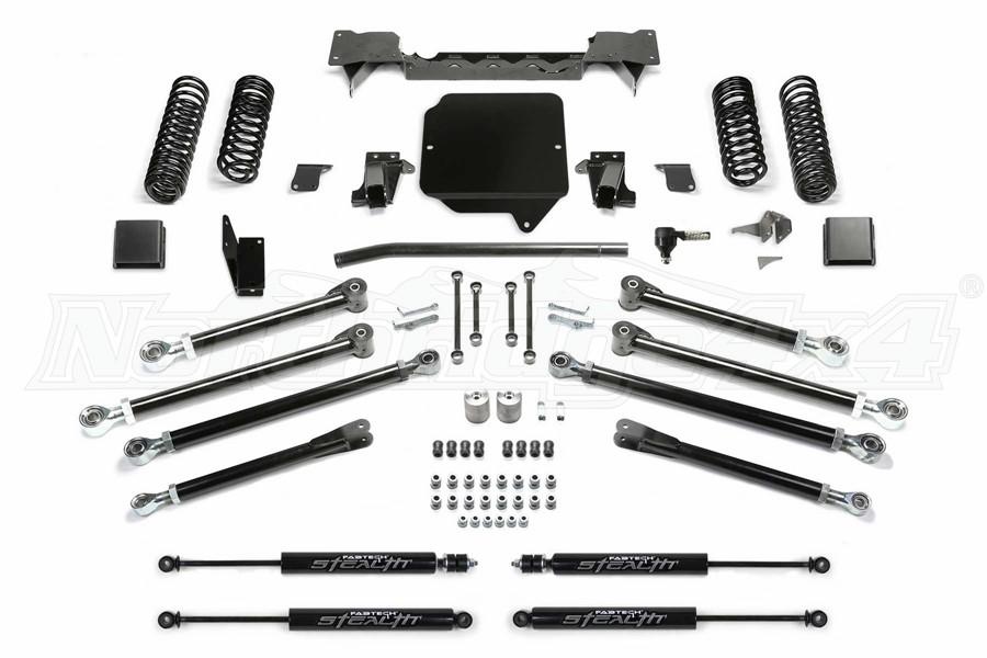Fabtech 3in Crawler Lift Kit w/Stealth Shocks - JT