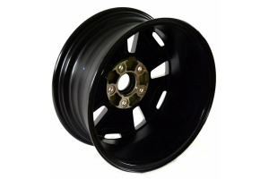 Mopar Rubicon Wheel - Gloss Black, 17x7.5, 5x5 - JK