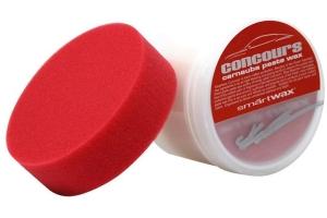 Chemical Guys SmartWax Concourse Carnauba Paste Wax w/ Red Foam Applicator