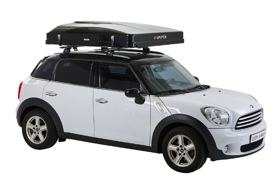 iKamper Skycamp Mini Rooftop Tent - Rocky Black