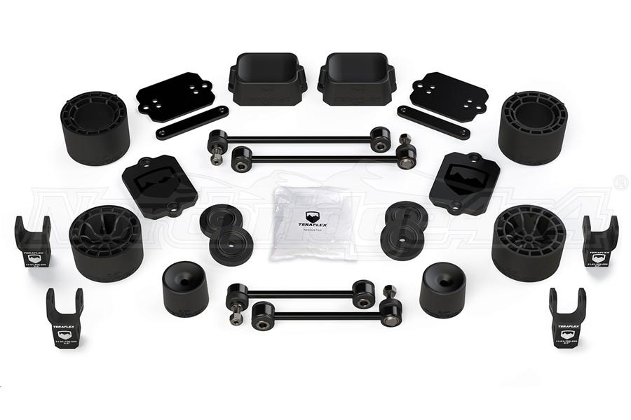 Teraflex 2.5in Performance Spacer Lift Kit /w Shock Extensions - JL 4Dr Sport/Sahara Only