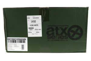 ATX Wheels AX194 Ravine Series Wheel Matte Gray 20x10 5x5 - JK/JL