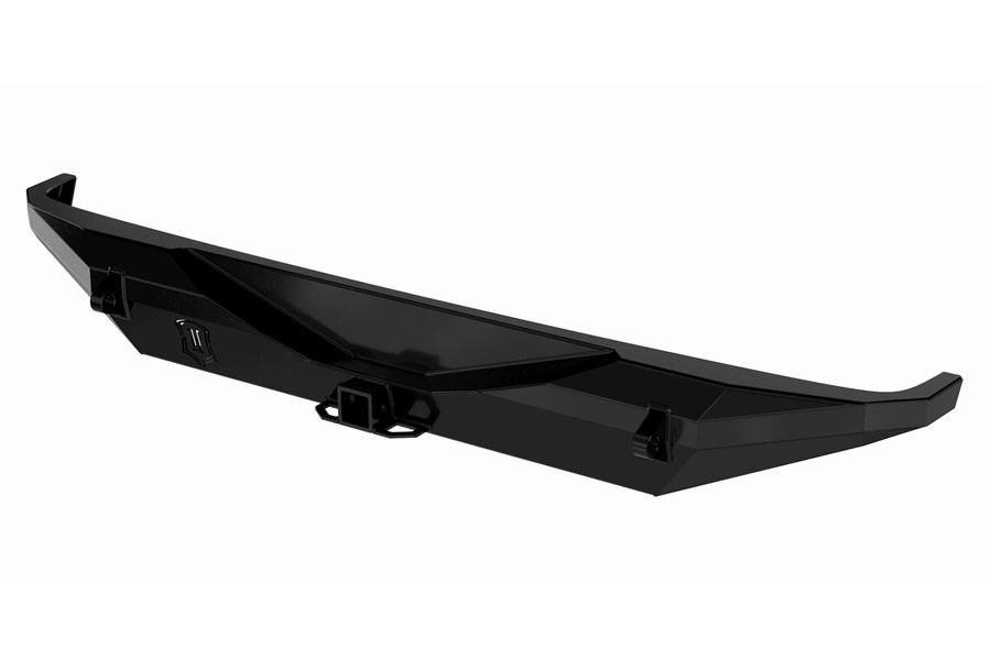 Icon Vehicle Dynamics Pro Series Rear Bumper w/ Hitch and Tabs - JL