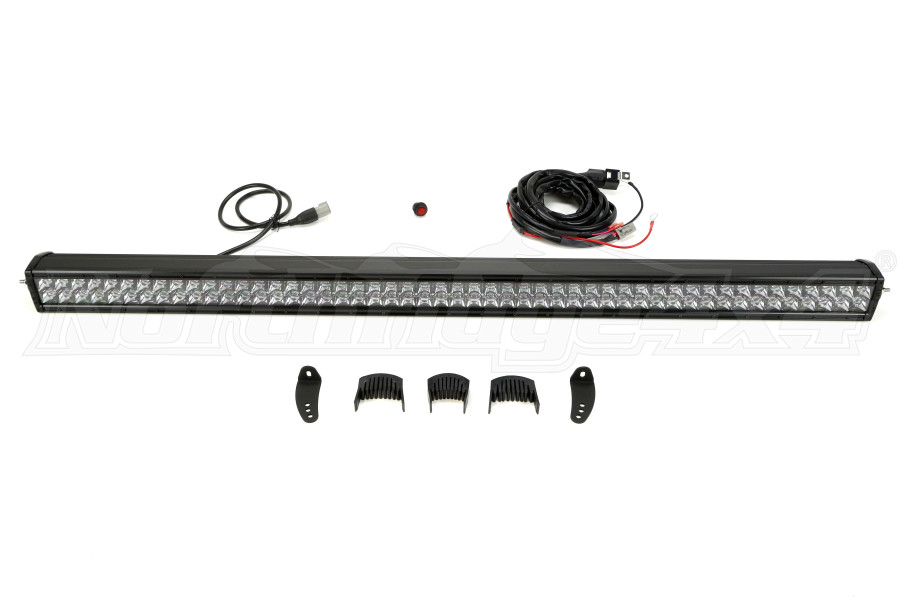 Rigid Industries E-Series Midnight Edition LED Light Bar 50in (Part Number:150213BLK)