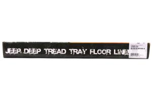 Rugged Ridge Front Floor Liners Black - JK