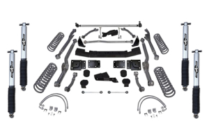 Rubicon Express 4.5in Extreme Duty Long Arm Lift Kit Mono Tube Shocks (Part Number: )