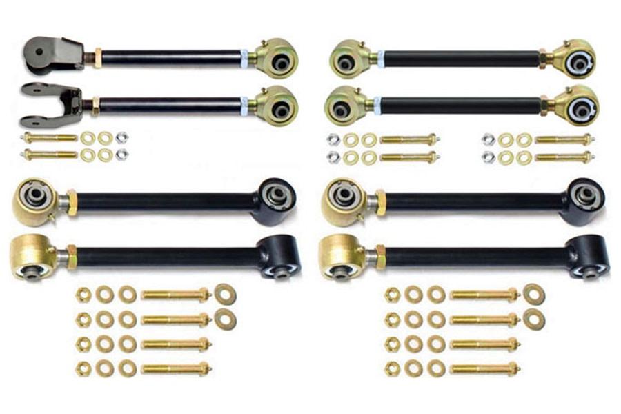 RockJock Johnny Joint Adjustable Control Arm Kit - LJ/TJ