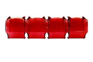 Rigid Industries Adapt 10in Cover, Red (Part Number: )