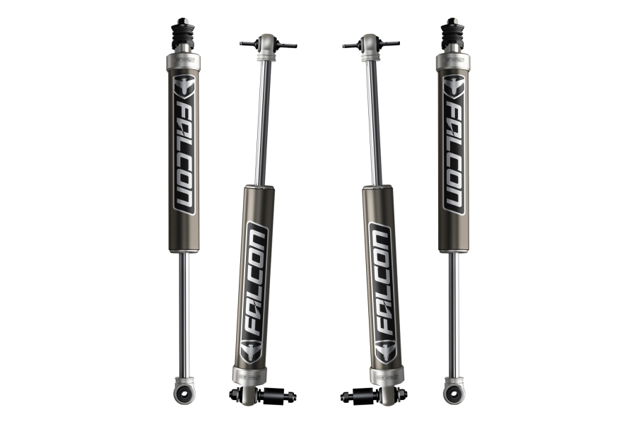 Teraflex Falcon Series 2.1 Monotube Shock Absorber Kit Front & Rear 2.5-3.5in Lift  (Part Number:02-01-21-400-253)