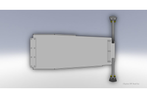 Clayton Engine skid plate - 6Cyl  (Part Number: )