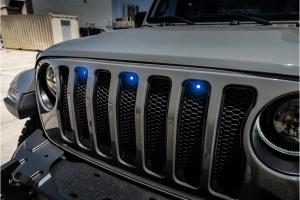Oracle Pre-Runner Style LED Grill Light Kit - Blue - JL