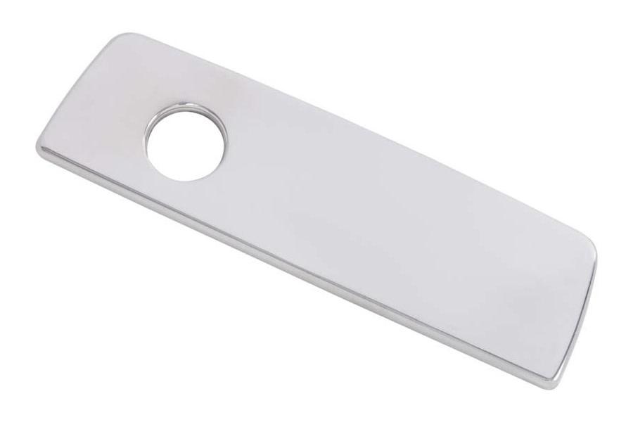 Kentrol Glove Box Door Handle Cover - Polished Silver  - JK