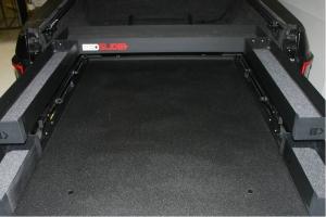 BedSlide BedBin Upper Tray Kit, Black - 58in