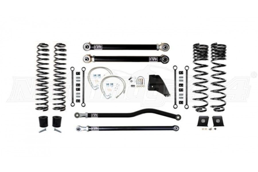EVO Manufactoring 6.5in Enforcer Lift Kit Stage 2 PLUS - JT