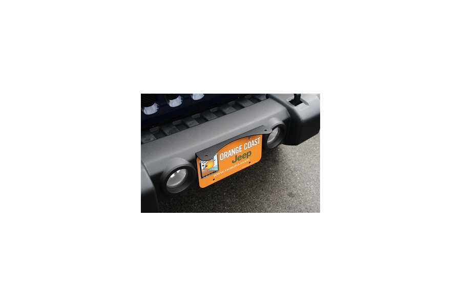 Rock Hard 4x4 LPLM License Plate Light Mount