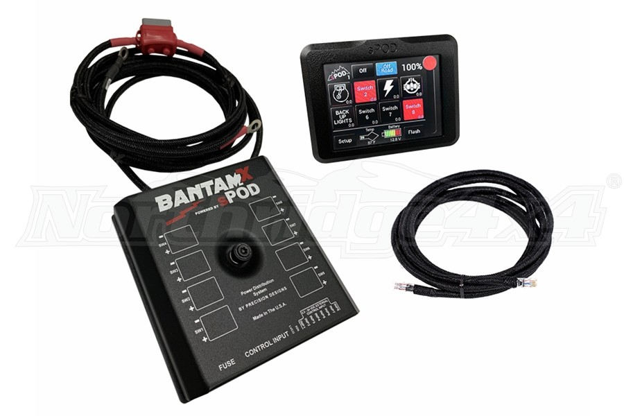 SPod BantamX w/Touchscreen, 36in Cables