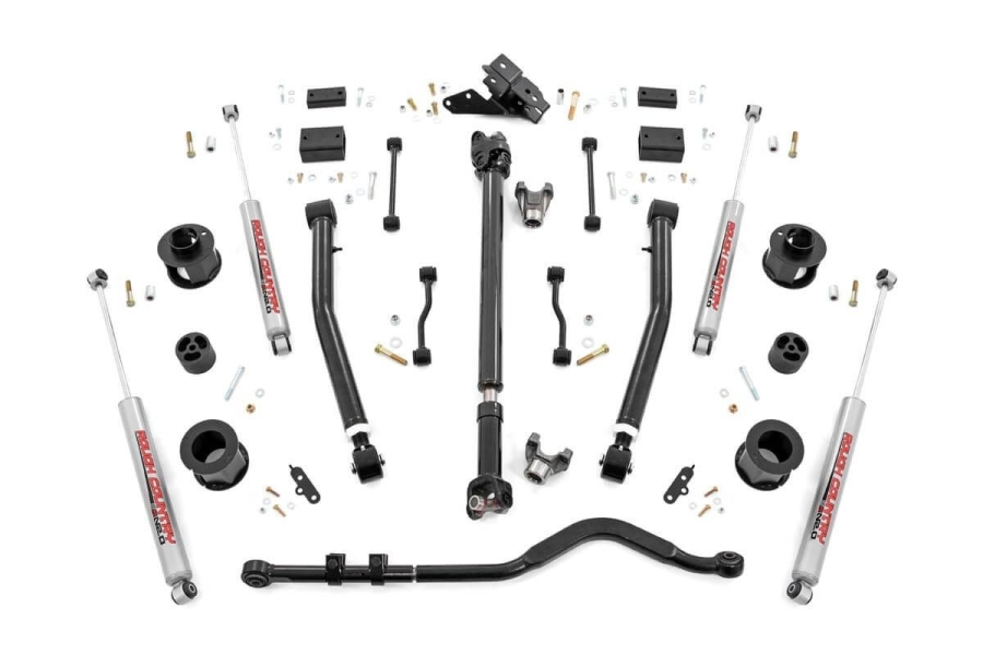 Rough Country 3.5in Stage 2 Suspension Lift Kit (Part Number:65530)