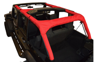 Dirty Dog 4x4 Roll Bar Covers Red (Part Number: )