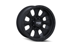 Wheel-1 Dirty Life Ironman 9300 Series Wheel Matte Black 17X8.5 5x5 (Part Number: )