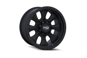 Wheel-1 Dirty Life Ironman 9300 Series Wheel Matte Black 17X8.5 5x5 - JT/JL/JK