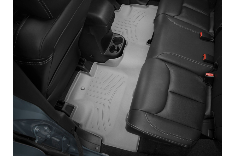 WeatherTech Rear Floorliner Grey - JK 4dr