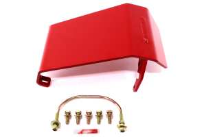 Rancho Performance Front Differential Glide Plate Red (Part Number: )