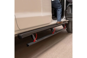 Aries ActionTrac 79-Inch Powered Running Boards  - JT