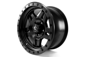 MHT Anza Wheel Matte Black 17x8.5 5x5 - JK/JL
